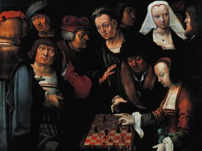 The Chess Players, 1510