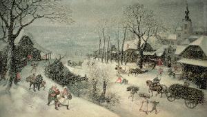 Winter by Lucas van Valckenborch