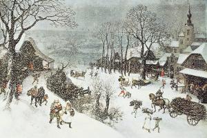 Winter by Lucas Van Valkenborch