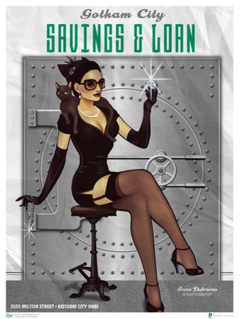 DC Bombshells Catwoman by Lucia Ant