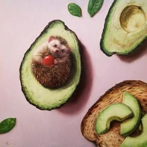 Avocado Toast by Lucia Heffernan