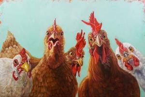 Chicken for Dinner by Lucia Heffernan