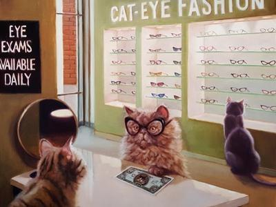 Feline Optical by Lucia Heffernan