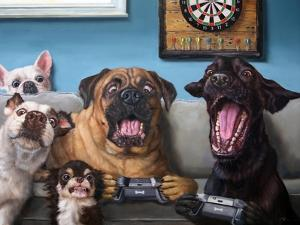 Gamers by Lucia Heffernan