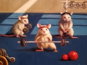 Gym Rats by Lucia Heffernan