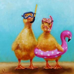 Pool Party by Lucia Heffernan