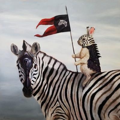 Striped Warrior by Lucia Heffernan