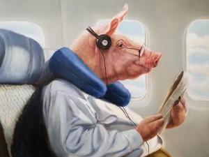 When Pigs Fly No. 2 by Lucia Heffernan