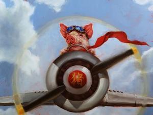 When Pigs Fly by Lucia Heffernan