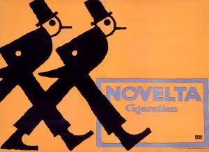 Novelta Cigaretten by Lucian Bernhard