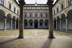 Courtyard of Honour, Ducal Palace, 15th Century by Luciano Laurana