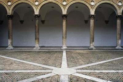 Portico, Court of Honour, Ducale Palace