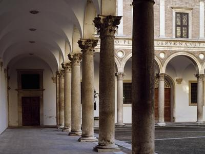 Portico of Courtyard of Honor, 1466-1472