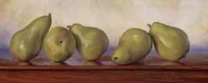 Pears I by Lucie Bilodeau