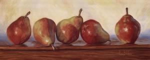 Pears II by Lucie Bilodeau