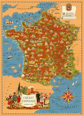 Crédit Lyonnais Bank - Locations in France by Lucien Boucher