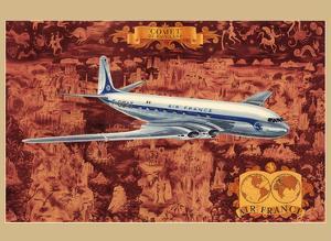 de Havilland Comet - France - First Jet Aircraft by Lucien Boucher
