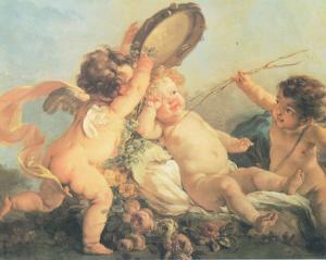 Festa di Putti by Lucien Boucher