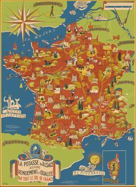 Potash Mining of Alsace, France (La Potasse D'Alsace) by Lucien Boucher