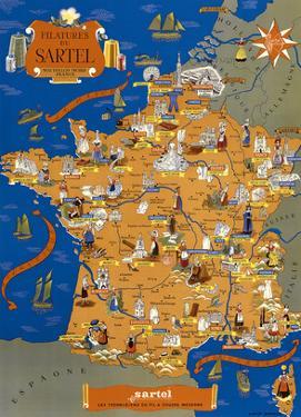 Sartel Spinning Mills (Filatures du Sartel) throughout France by Lucien Boucher