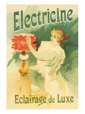 Electricine, Luxury Lighting by Lucien Lefevre