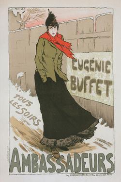 Eugénie Buffet - Ambassadeurs by Lucien Métivet