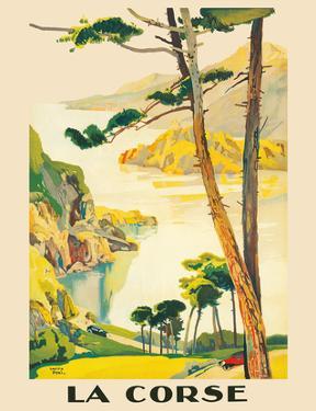 Corsica (La Corse) - France - Paris-Lyon-Mediterrannee (PLM), French Railroad by Lucien Peri