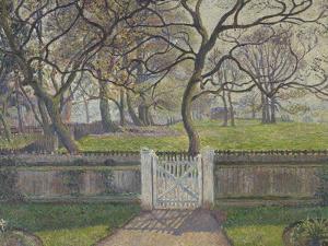 The Garden Gate, Epping, 1894 by Lucien Pissarro