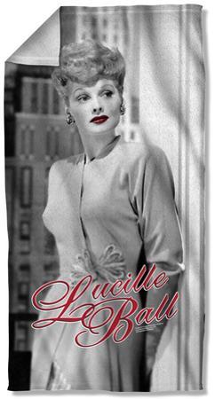 Lucille Ball - City Girl Beach Towel