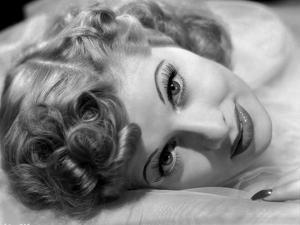 Lucille Ball Lying in Black and White by E Bachrach