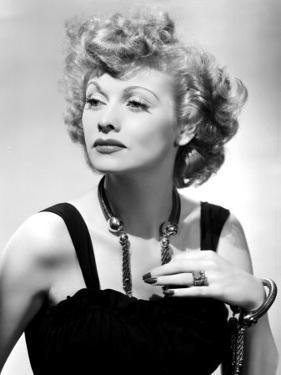Lucille Ball Publicity Shot 1940 S