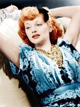 Lucille Ball, RKO publicity shot, ca. 1940