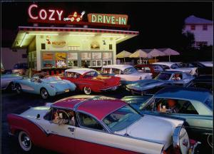 Cozy Drive In by Lucinda Lewis