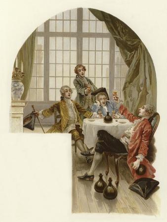 Illustration for the School for Scandal