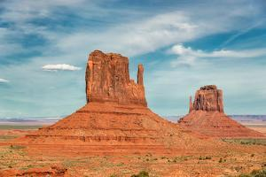 Monument Valley at Sunset, Utah, USA by lucky-photographer