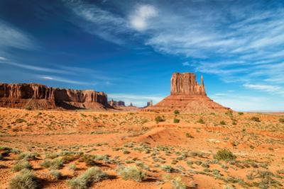 Monument Valley, Desert Canyon in Arizona by lucky-photographer