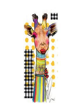 Giraffe Giselle by Lucy Cloud