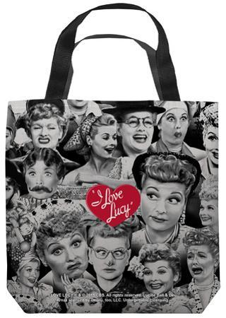 Lucy - Faces Tote Bag