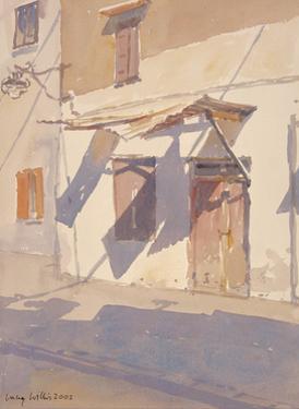 Cretan Shadows, 2002 by Lucy Willis