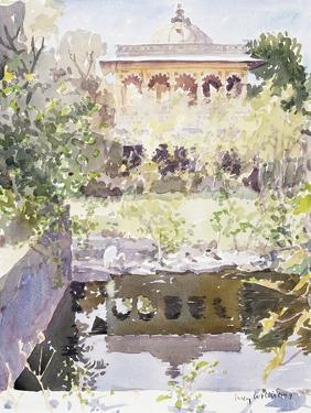 Forgotten Palace, Udaipur, 1999 by Lucy Willis