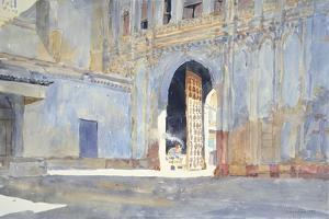 Palace Gate, Gujarat by Lucy Willis