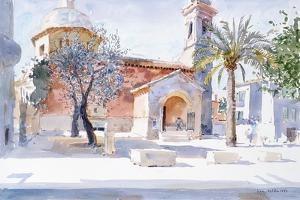 Provencal Church, 1993 by Lucy Willis
