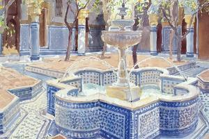 The Blue Fountain, 2000 by Lucy Willis