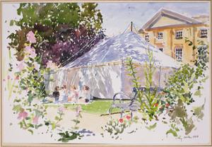 The Marquee, 1989 by Lucy Willis