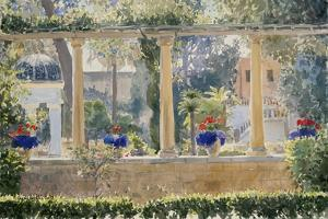 The Palace Garden, 2012 by Lucy Willis