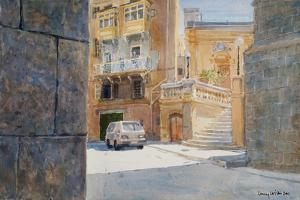 The Walls of Birgu, 2011 by Lucy Willis