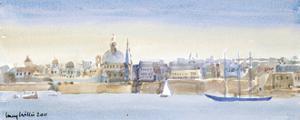 Valletta Skyline, 2011 by Lucy Willis