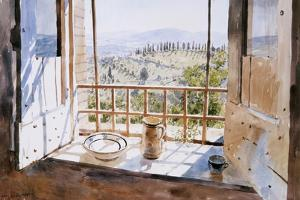 View from a Window, 1988 by Lucy Willis