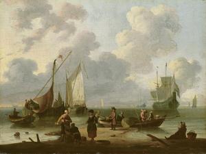 Seascape by Ludolf Backhuysen