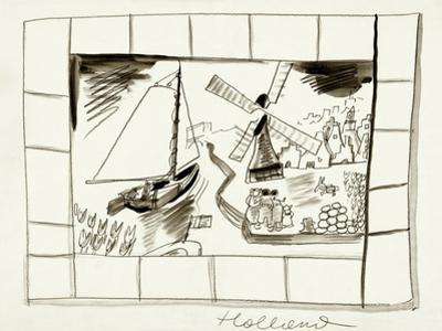 House & Garden - January, 1939 by Ludwig Bemelmans